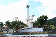 Tugu Trikora en la isla de Lembeh Foto de archivo