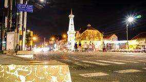 Tugu Yogyakarta. Iconic monument in yogya indonesia Stock Images