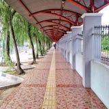 Tugu Yogyakarta järnvägsstation Royaltyfria Bilder