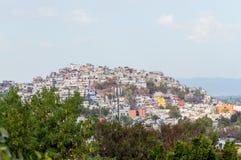 Tugurios de Ciudad de México fotografía de archivo libre de regalías
