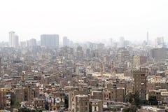 Tugurios de El Cairo Fotografía de archivo libre de regalías