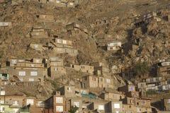 Tugurios de Kabul fotografía de archivo libre de regalías