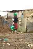 Tugurios de Nairobi Foto de archivo