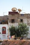 Tugurios en Palestina foto de archivo