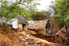 Tugurios La India del sur Foto de archivo