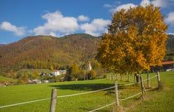 Tuhinj, Kamnik, Словения Стоковые Изображения RF