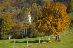 Tuhinj, Kamnik, Eslovênia Fotos de Stock