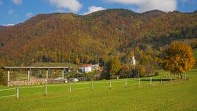 Tuhinj, Kamnik, Slovenië Stock Afbeeldingen