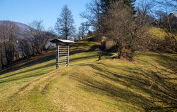 Tuhinjvallei, Slovenië Royalty-vrije Stock Foto's