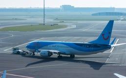 TUI Боинг 737-800 стоковые изображения rf