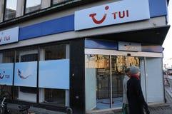 TUI agencja podróży fotografia stock
