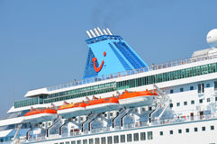 Tui Cruises funnel Royalty Free Stock Photos
