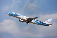 TUI Fly Belgium Embraer ERJ-190 Stock Image
