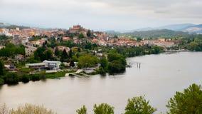 Tui Galiza, Rio Minho piędź Portugalia Zdjęcia Stock