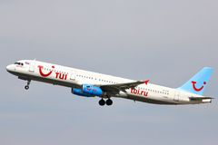 TUI Russia Airbus A321 Royalty Free Stock Image