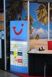 Tui an Tourismusbörse cmt in Stuttgart Stockfotos