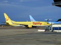 Tuifly波音737 800 D ATUI 库存照片
