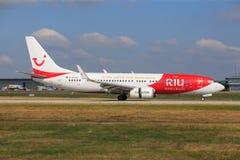 TUIfly Боинг 737-800 стоковое фото