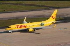 TUIfly Боинг 737 стоковые изображения rf