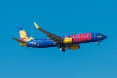TUIfly Boeing B737 Fotografering för Bildbyråer