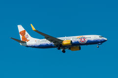 TUIfly Boeing B737 Royalty Free Stock Photography