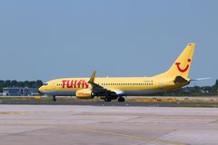 TUIfly Boeing 737 Royalty Free Stock Images