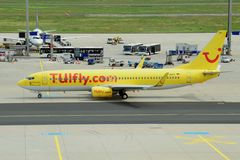 TUIfly Boeing 737-800 Royalty Free Stock Photography