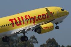 TUIfly.com B737 Royalty Free Stock Photo