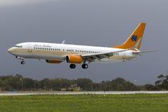Tuifly fungerade vid Hapag Lloyd 737 Royaltyfri Bild