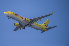 Tuifly, germany, boeing 737-800 Royalty Free Stock Image