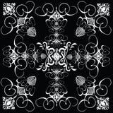 Tuile 5 gothiques de fleur Image libre de droits