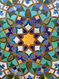 tuile arabe de fond Photos stock