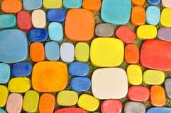 Tuile colorée de conception Photo stock