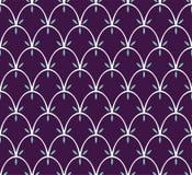 Tuile décorative abstraite Modèle sans couture de Ginkgo géométrique Fond floral Photographie stock libre de droits