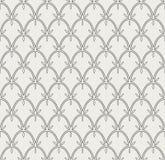 Tuile décorative abstraite Modèle sans couture de Ginkgo géométrique Fond floral Photos stock