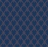 Tuile décorative abstraite Modèle sans couture de Ginkgo géométrique Fond floral Photo libre de droits