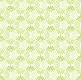 Tuile décorative de fleur abstraite Modèle sans couture de Ginkgo géométrique Fond floral illustration stock