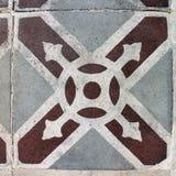 Tuile décorative de style marocain Photographie stock