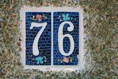 Tuile décorative sur Islands des princes, Istanbul, Turquie Fin vers le haut image stock