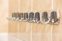 Tuile dans une salle de bains Photographie stock libre de droits