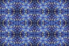 Tuile de bleu de mosaïque Photos libres de droits