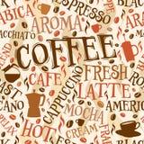 Tuile de café illustration libre de droits