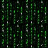Tuile de note de matrice Images libres de droits