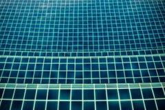 Tuile de piscine Photographie stock libre de droits