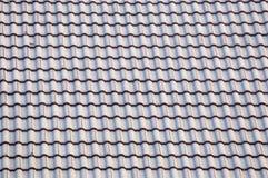 Tuile de toit verte Photos stock
