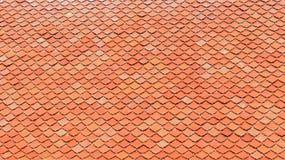 Tuile de toit verte Image libre de droits