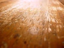 Tuile en bois jaune de fond Photographie stock libre de droits
