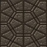 Tuile en cuir texturisée Photographie stock libre de droits