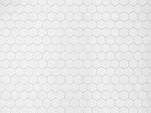 Tuile hexagonale blanche illustration libre de droits