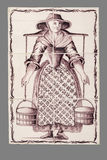 Tuile néerlandaise de la 16ème au XVIIIème siècle image libre de droits